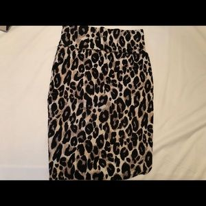 Charlotte Russe high waisted skirt